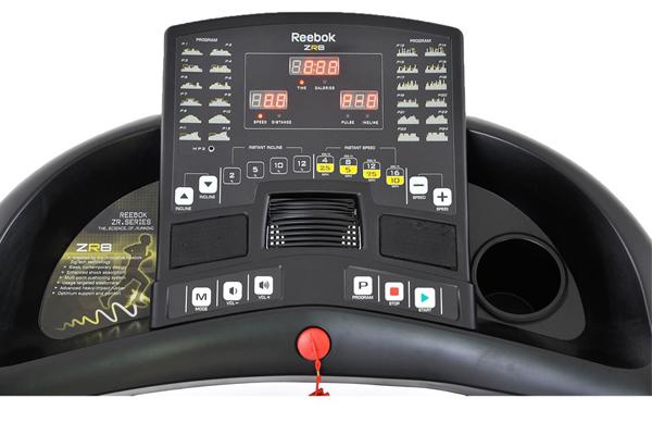 Bảng điều khiển máy chạy bộ điện cao cấp Reebok ZR8