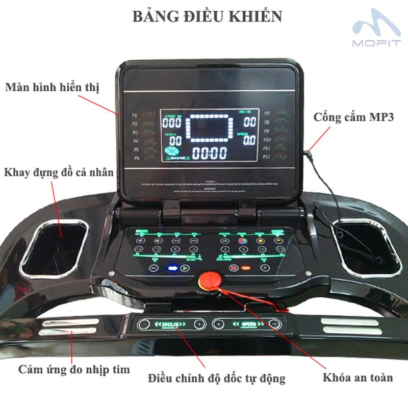 Bảng điều khiển máy chạy bộ điện MHT-1802AD