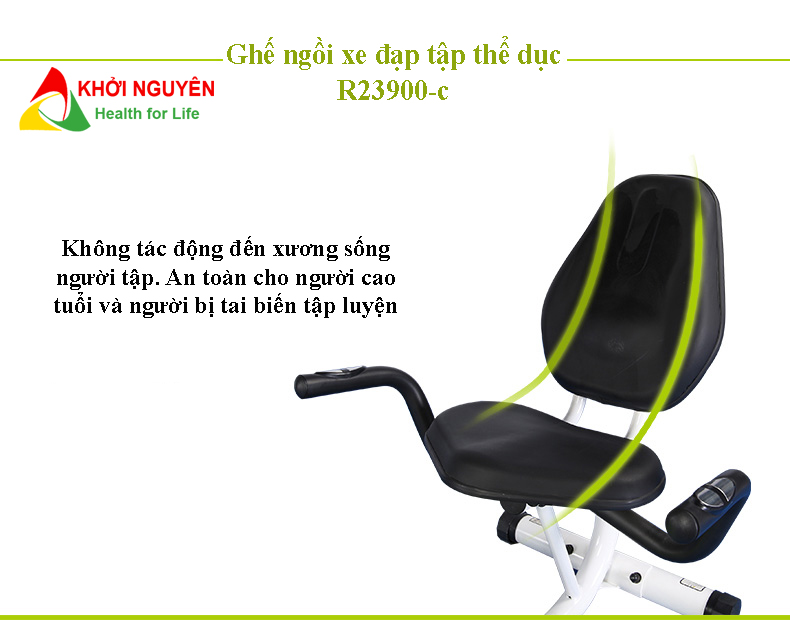 Ghế ngồi trên xe đạp tập thể dục R23900-C