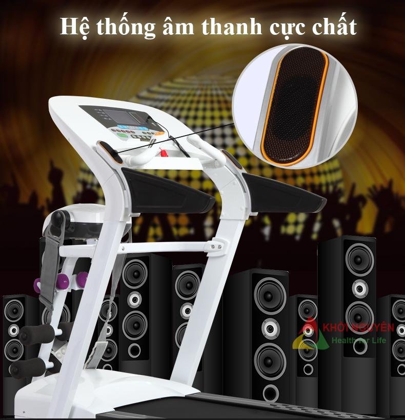 Loa âm thanh trên máy chạy bộ điện MHT-1430MA