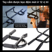 Cấu tạo xà đơn đa năng Iron Gym 1557B