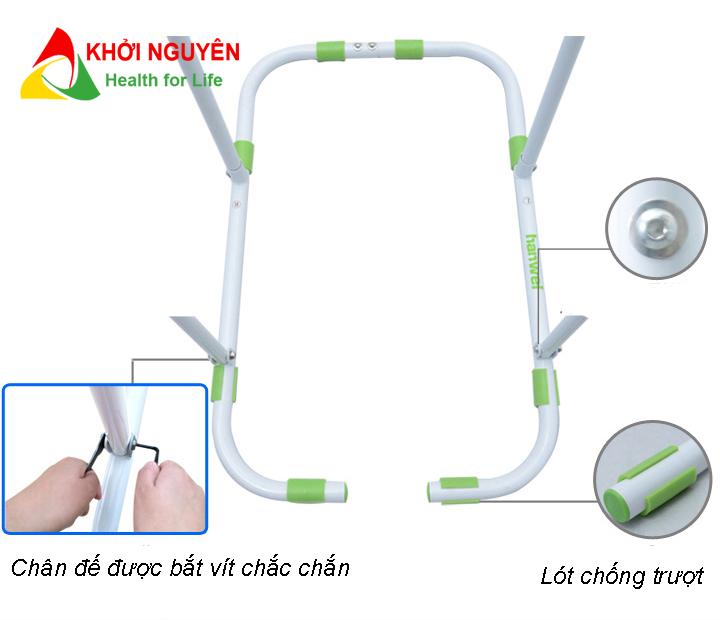 Chân đế xà đơn đa năng Hanwei 881