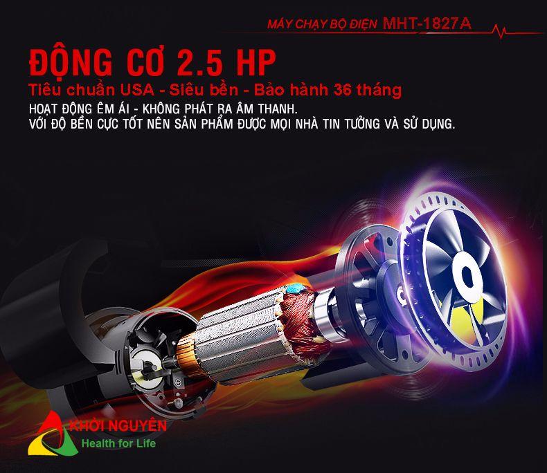 Motor máy chạy bộ điện Mofit MHT-1827AD