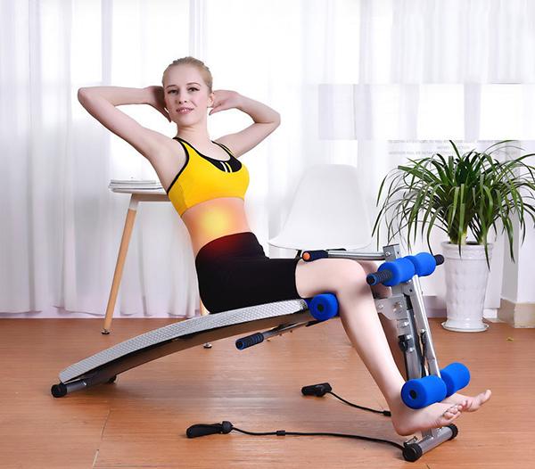 Tập bụng với ghế cong tập bụng Sport XD 8095