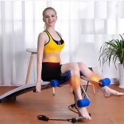 Bài tập đá chân với ghế cong tập bụng XD 8095