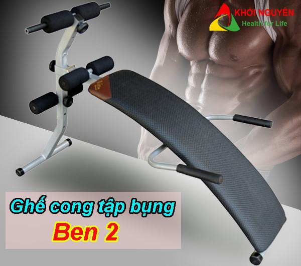 Ghế cong tập bụng Ben 2