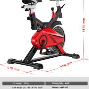 Thông số xe đạp tập thể dục MHS-615