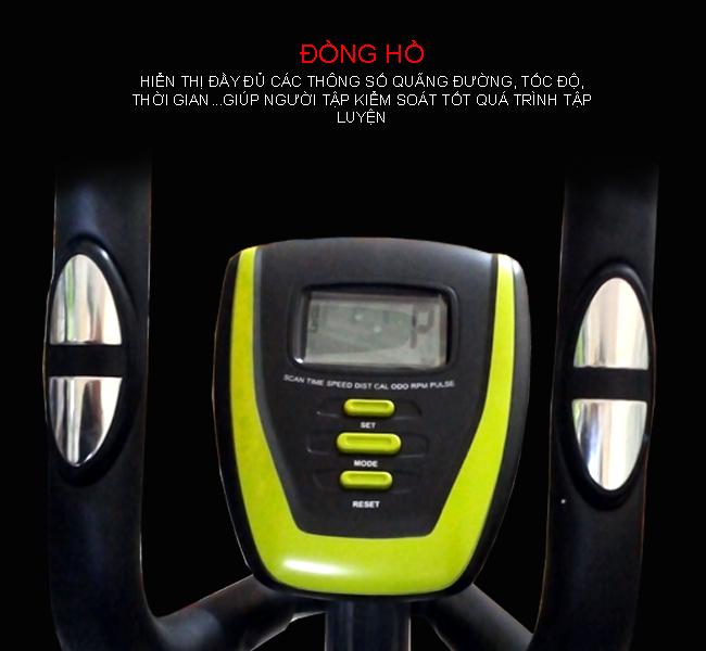 Đồng hồ xe đạp tập VK-08EA