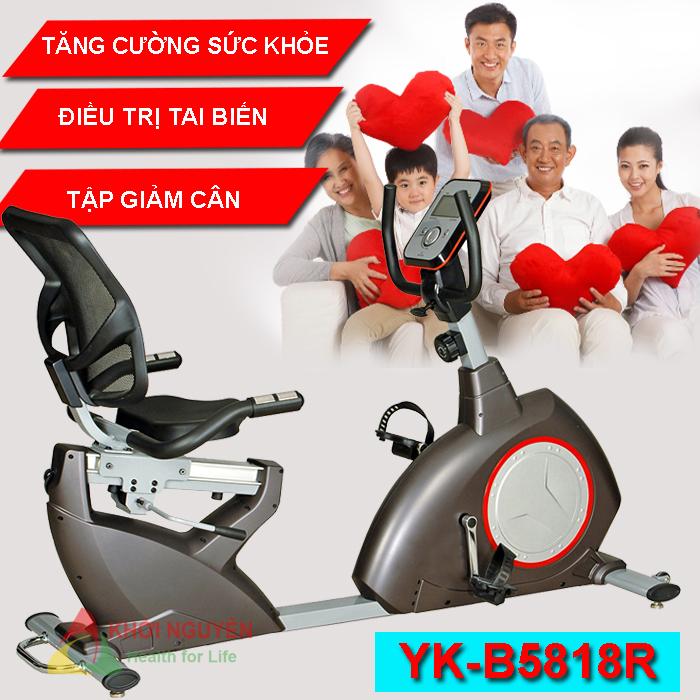 Tác dụng của xe đạp tập thể dục YK-B5818R