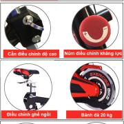 Tính năng trên xe đạp tập thể dục BK-3000 Pro