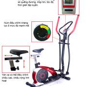 Tính năng trên xe đạp tập thể dục MHE 6.36