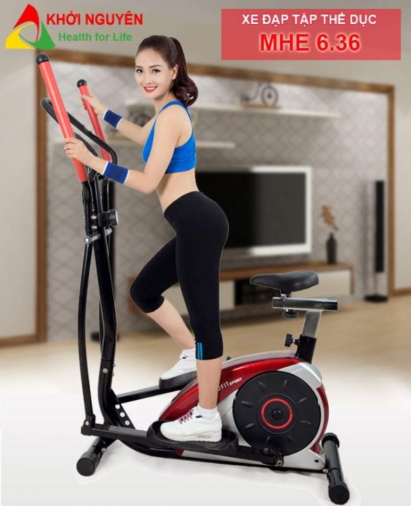 Xe đạp tập thể dục MHE 6.36