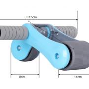 Kích thước bánh xe tập bụng Gym Roller
