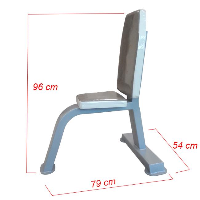 Kích thước ghế tập tạ tay KNG-21