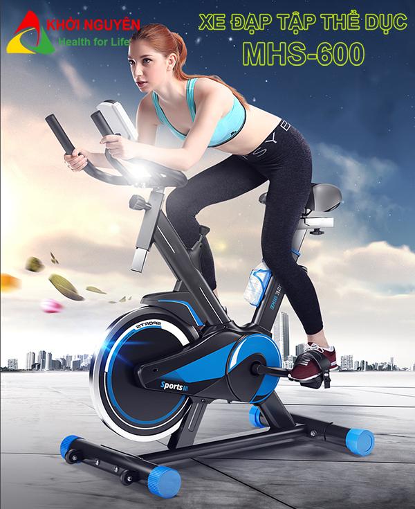 Xe đạp tập thể dục MHS-600