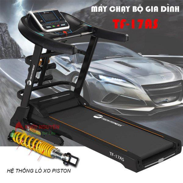 Giảm chấn trên máy chạy bộ điện Tech Fitness