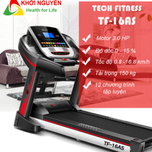 Thông số kỹ thuật máy chạy bộ tại nhà Tech Fitness TF-16AS