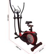 Kích thước xe đạp tập thể dục VK-8601HA