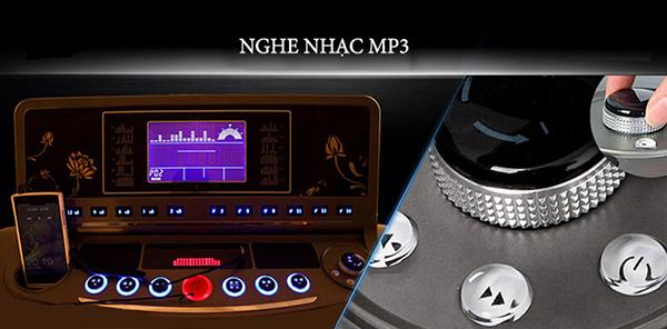 Tính năng giải trí trên máy chạy bộ điện MHT-1809AD