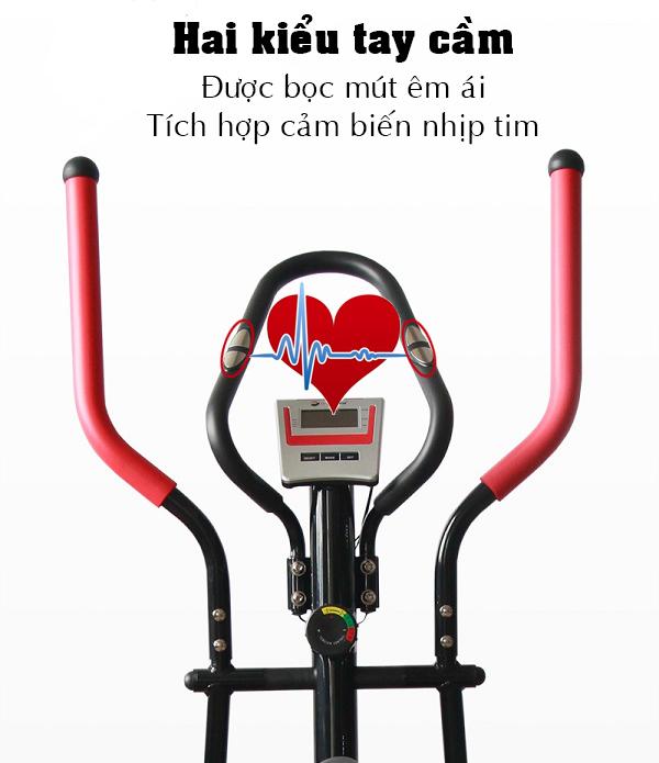 Tay cầm xe đạp tập thể dục TF-616