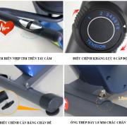 Chi tiết xe đạp tập thể dục Royal 571D