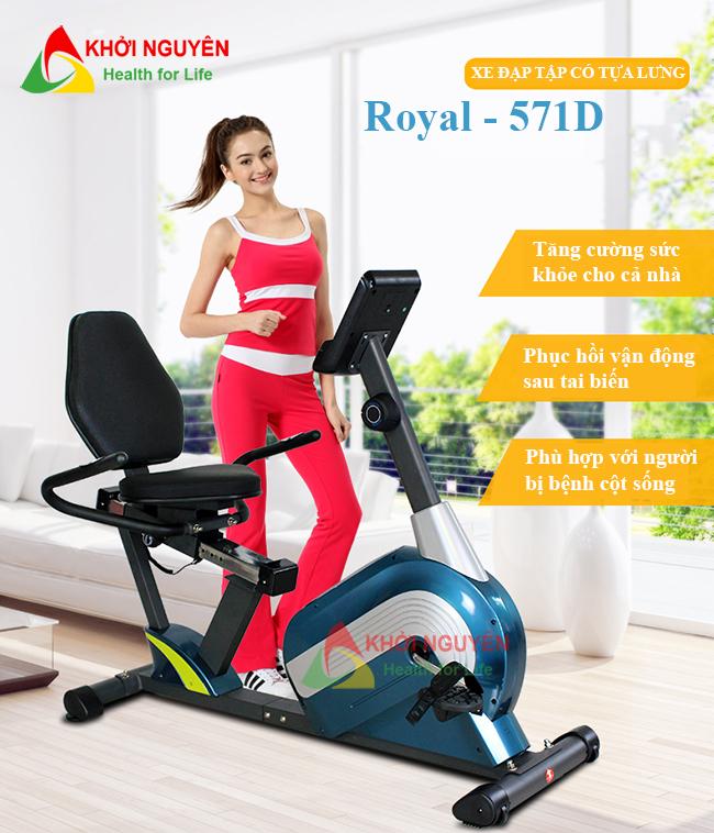 Xe đạp tập thể dục Royal 571D