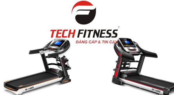 5 máy chạy bộ điện Tech Fitness bán chạy