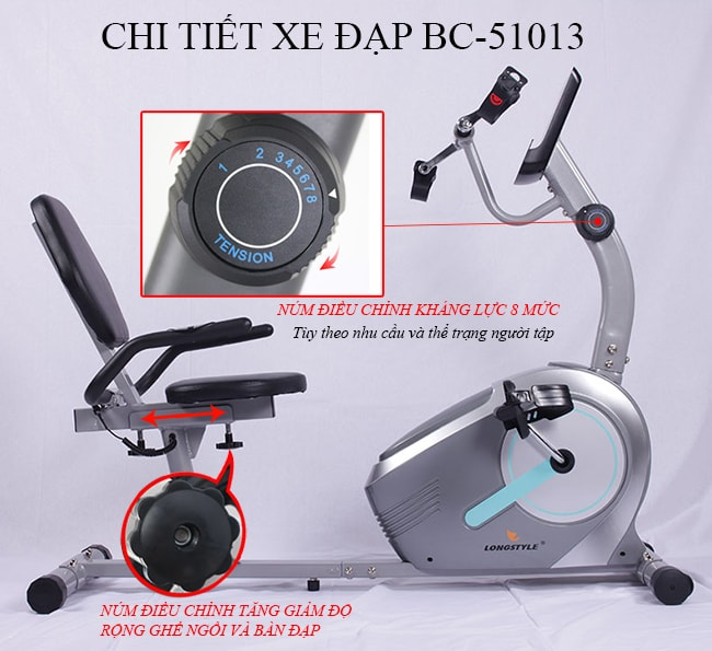 Kháng lực xe đạp tập thể dục BC-51013