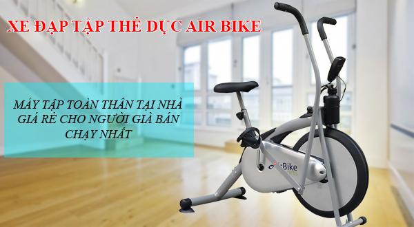 Xe đạp tập thể dục Air Bike có tốt không