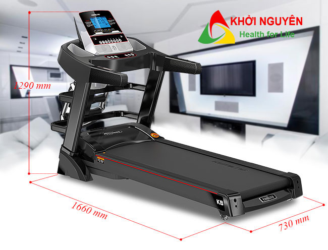 Kích thước máy chạy bộ điện VK-A4