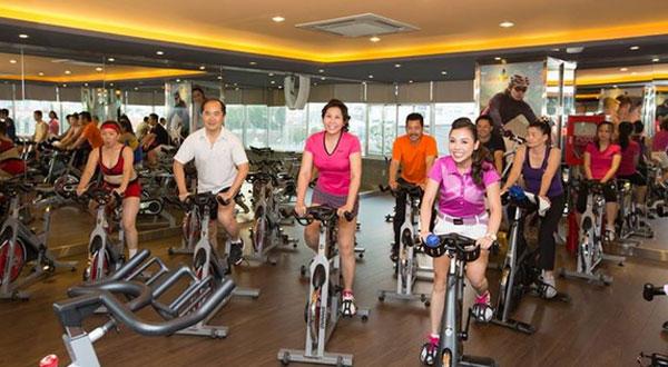 Xe đạp cho phòng tập Gym giá rẻ