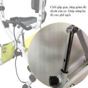 Điều chỉnh độ choãi xe đạp tập X-bike PF-07