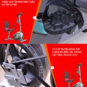 Chi tiết xe đạp tập vật lý trị liệu BC 51053