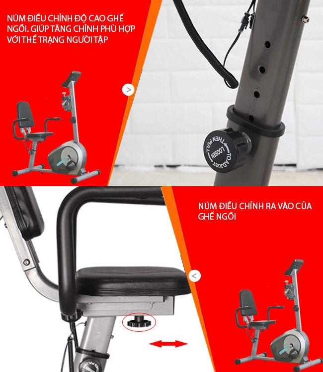 Chi tiết xe đạp tập BC 51053
