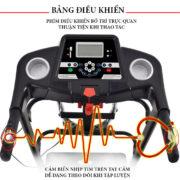 Bảng điều khiển máy chạy bộ điện Pro Fitness PF-112D