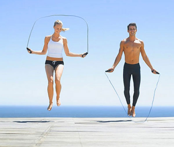 Nhảy dây giúp tăng chiều cao hiệu quả