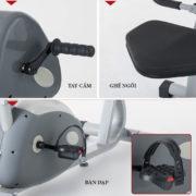 Chi tiết xe đạp tập Dual E-Bike