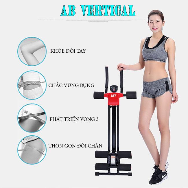 Tác dụng của máy tập bụng AB Vertical