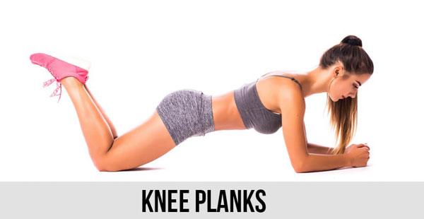 Bài tập Plank đầu gối (Knee Plank)