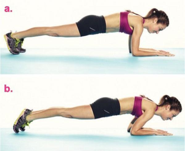 Bài tập Rocking Plank