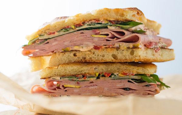 Sandwich thực phẩm bổ dưỡng sau khi tập Gym