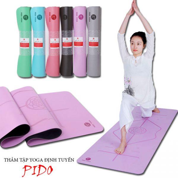 Thảm Yoga Pido định tuyến