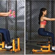 Bài tập ghế tập Gym đa năng Grand Squat