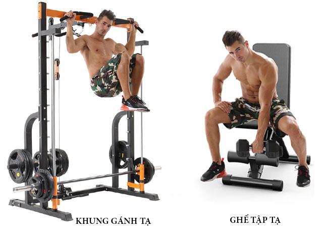 Chi tiết máy tập gym đa năng K8