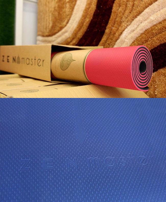 Hoa văn thảm Yoga Zen Master định tuyến