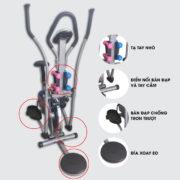 Chi tiết xe đạp tập K2085