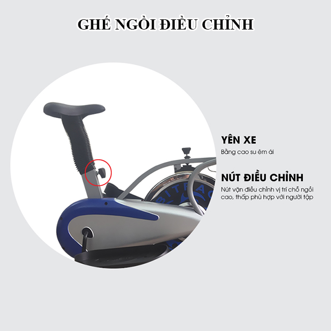 Ghế ngồi xe đạp tập đa năng K2085
