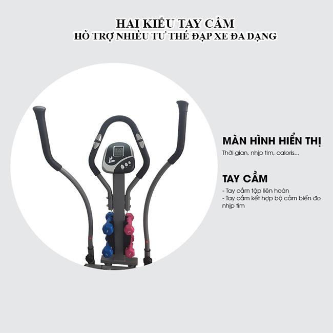 Tay cầm xe đạp tập đa năng K2085