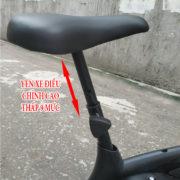 Yên xe đạp tập thể dục VK-01N