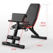 Kích thước ghế tập Gym đa năng P189